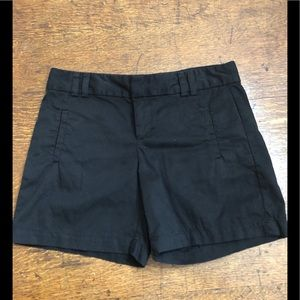 Loft Shorts In Black Sz 4